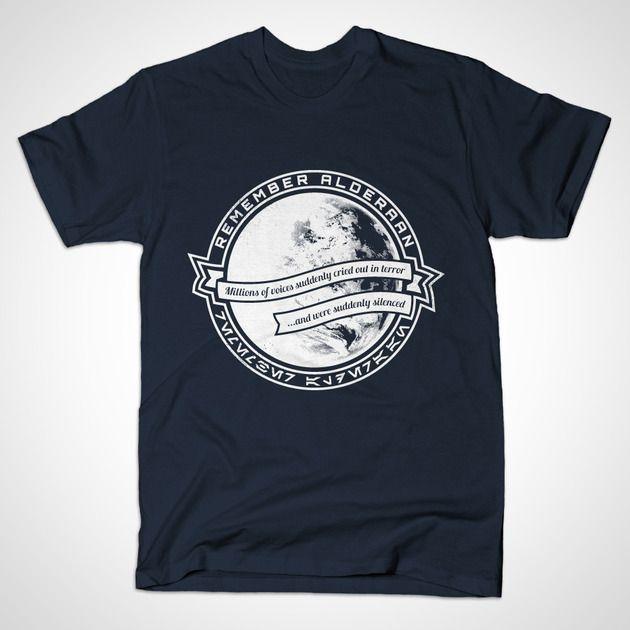 REMEMBER ALDERAAN T-Shirt - The Shirt List