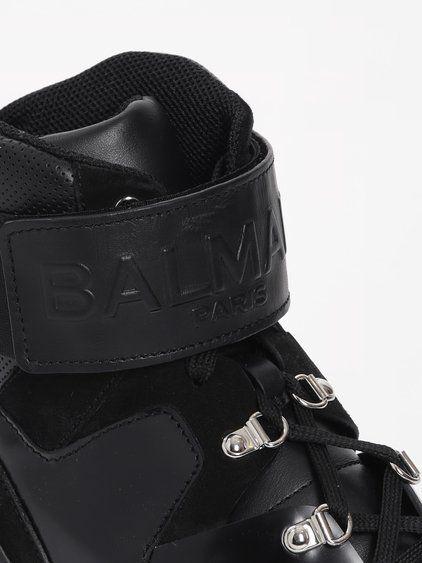 Black Cleveland High-Top Sneakers Balmain jzfsdJb0w