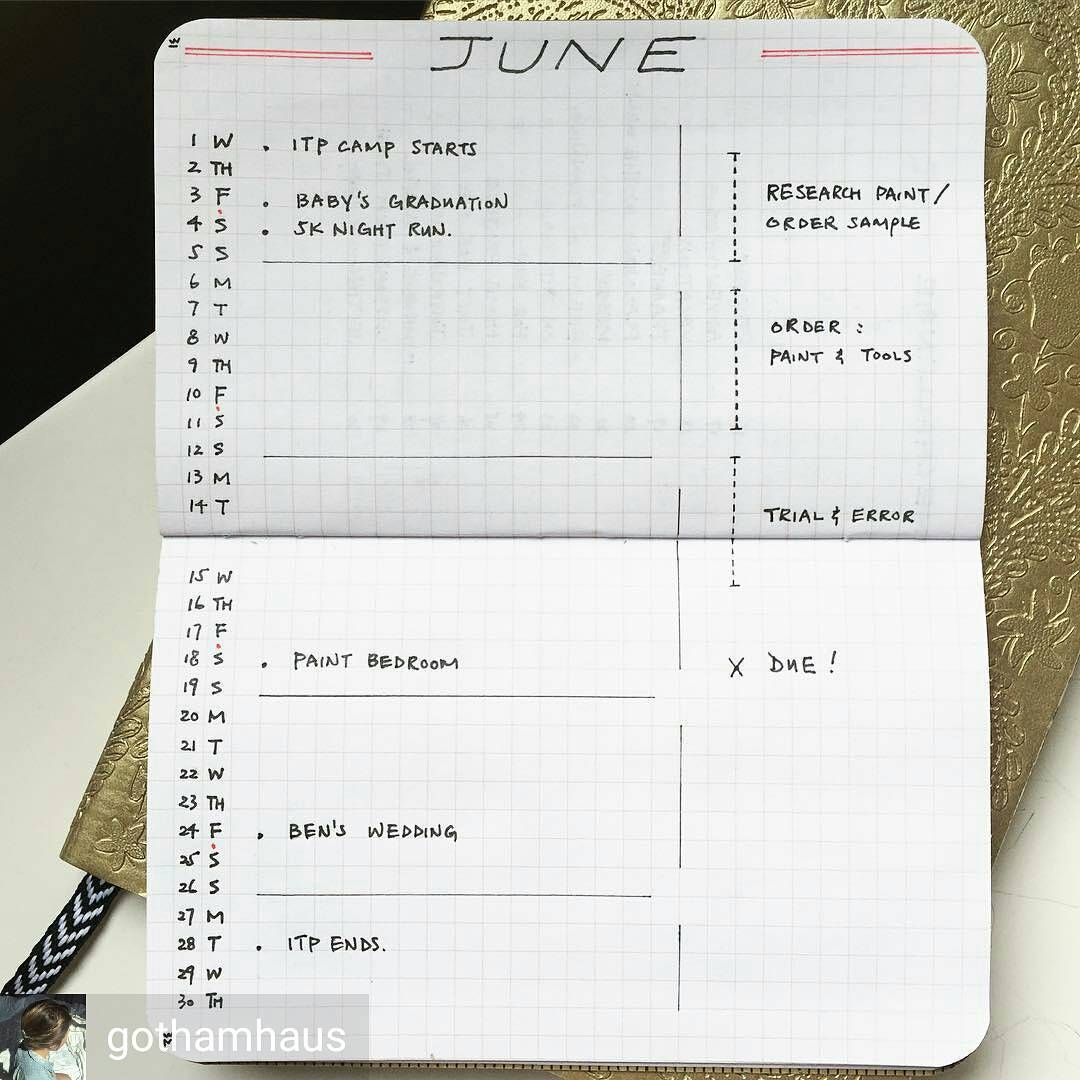 For all the minimalist bullet journal inspiration you need ...