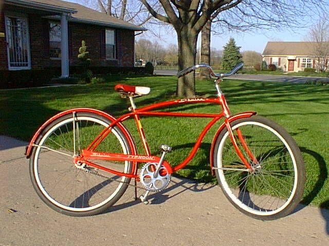 3f572e02b2a 1962 Schwinn Typhoon   1960's   Old bicycle, Vintage bikes, Cool ...