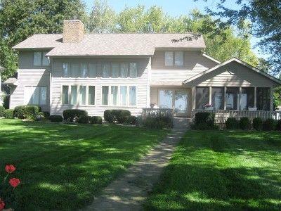 North Webster house rental - Tippecanoe Lake Front 4 ...