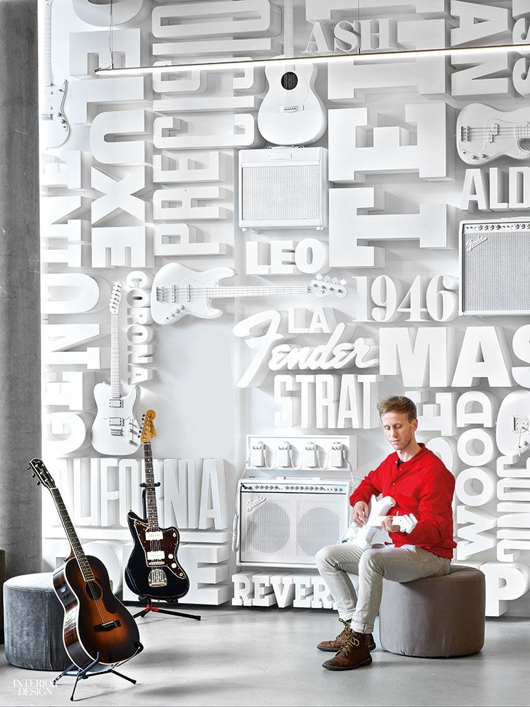 fender rocks out at new los angeles headquarters by rapt studio