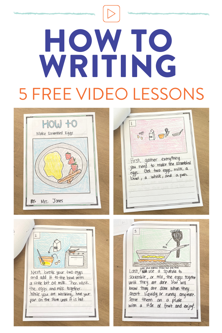 How To Writing In 1st Grade A Week Of Lessons Susan Jones Kids Writing Procedural Writing 1st Grade Writing [ 1102 x 735 Pixel ]