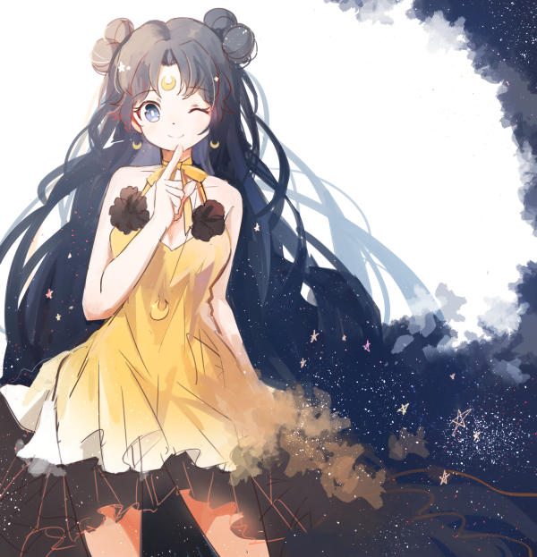 Sailor moon luna human form manga