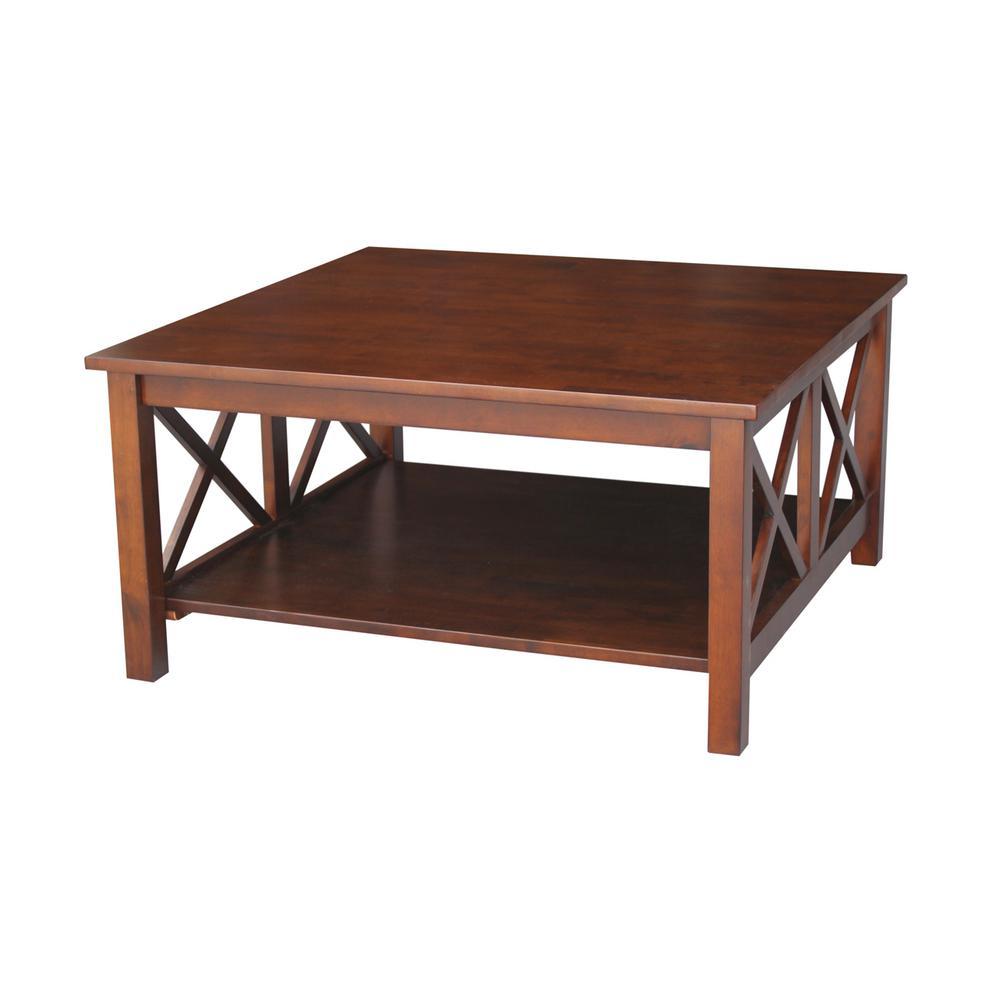 International Concepts Hampton Espresso Coffee Table Ot581 70sc The Home Depot Coffee Table Square Espresso Coffee Table Coffee Table Inspiration [ 1000 x 1000 Pixel ]