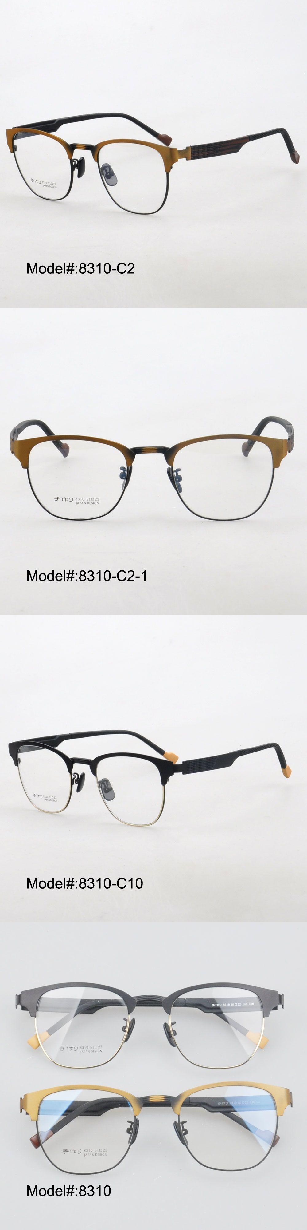 0526bdf89e0 MY DOLI New 8310 full rim men style stainless steel RX optical frames  myopia eyewear eyeglasses