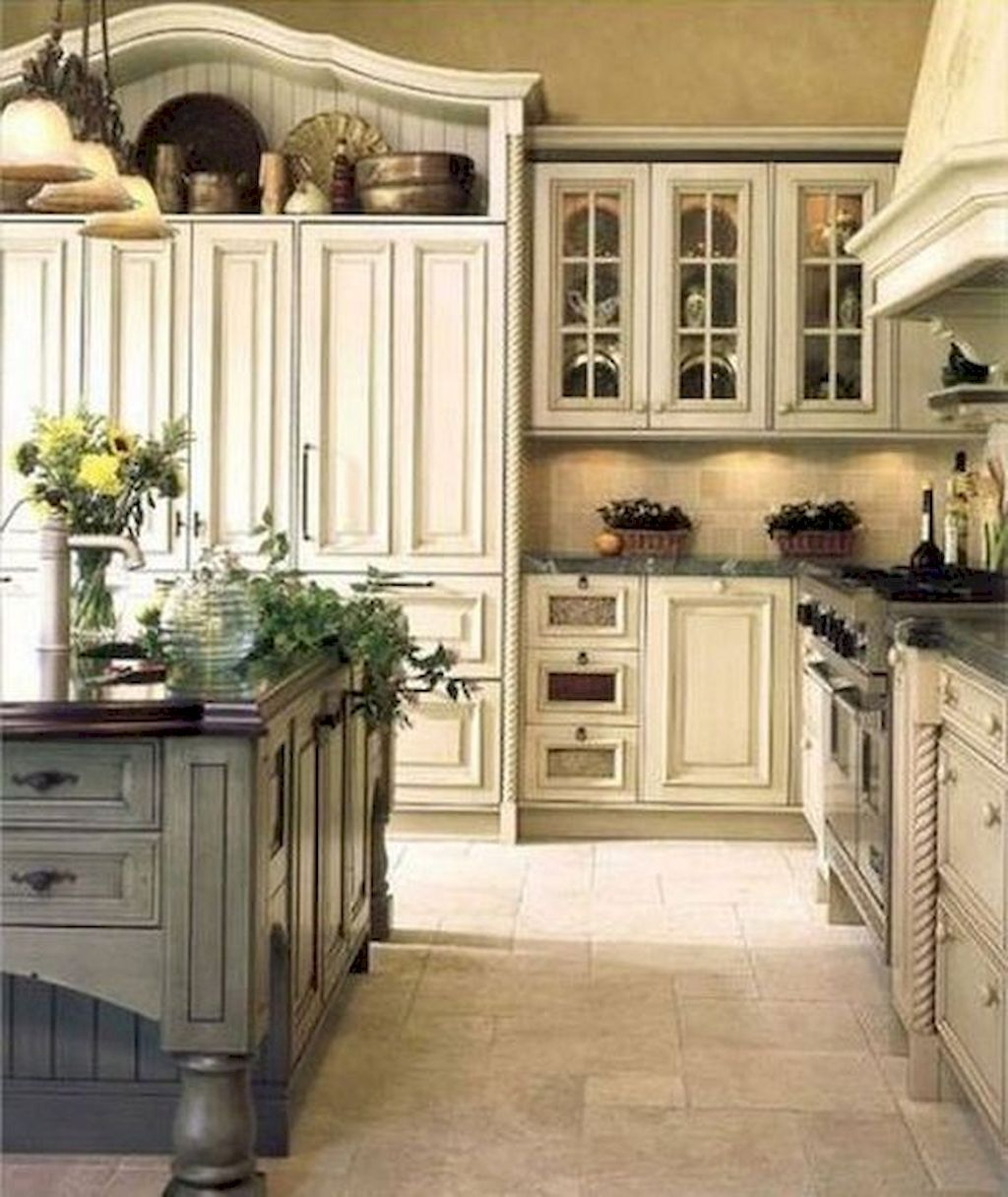 75 Incredible French Country Kitchen Design Ideas | Kitchen