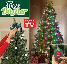 Tree Dazzler Light Show Easy To Install Vertical Lights Tree Dazzler Simple Christmas Tree Christmas Lights