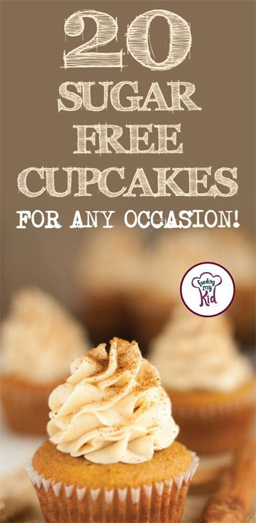 20 Sugar Free Cupcakes For Any Occasion! - #Cupcakes #FREE #Occasion #SUGAR #sugarfreedesserts
