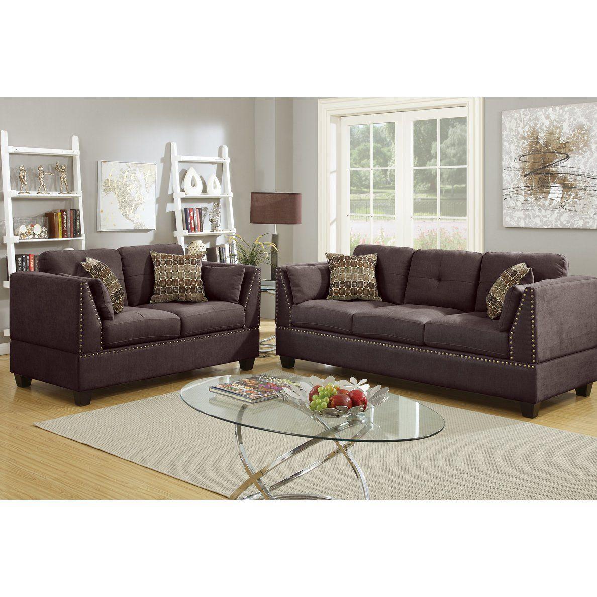 Bobkona Sectional Sofa Embly Instructions Alex Bed Sleeper Zenda 2 Piece Living Room Set Sets