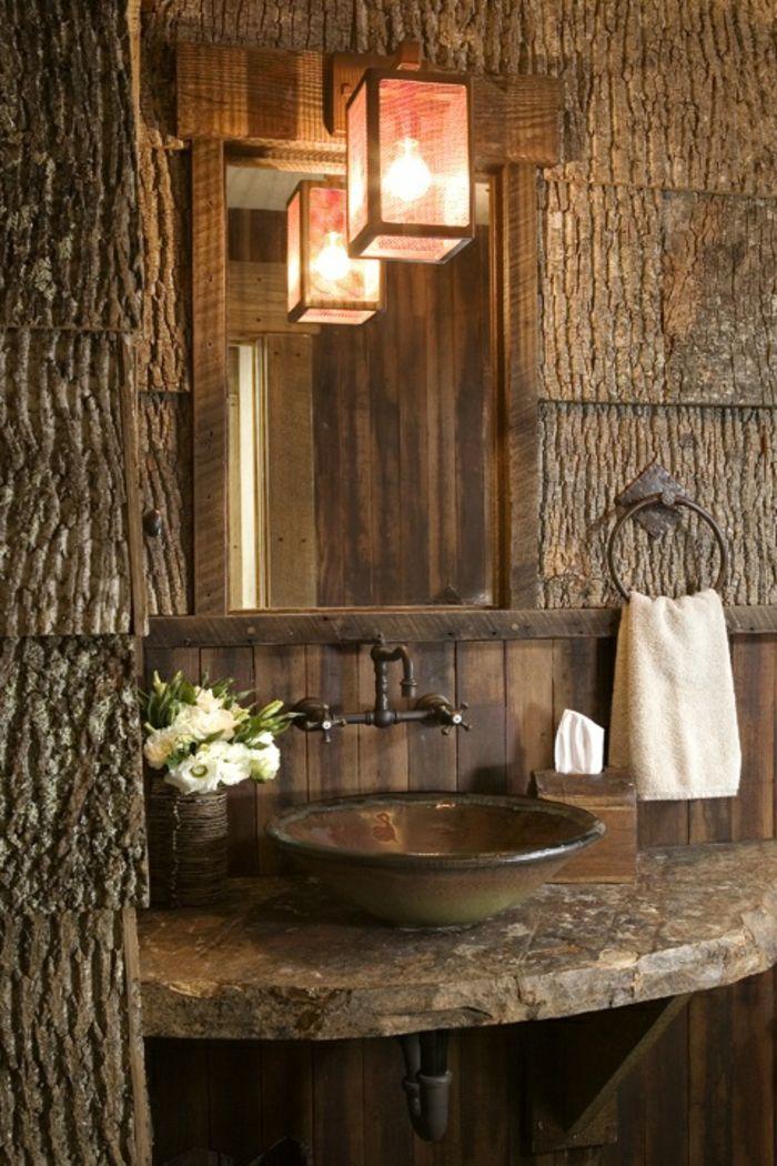 le thme du jour est la salle de bain rtro - Salle De Bain Rustique