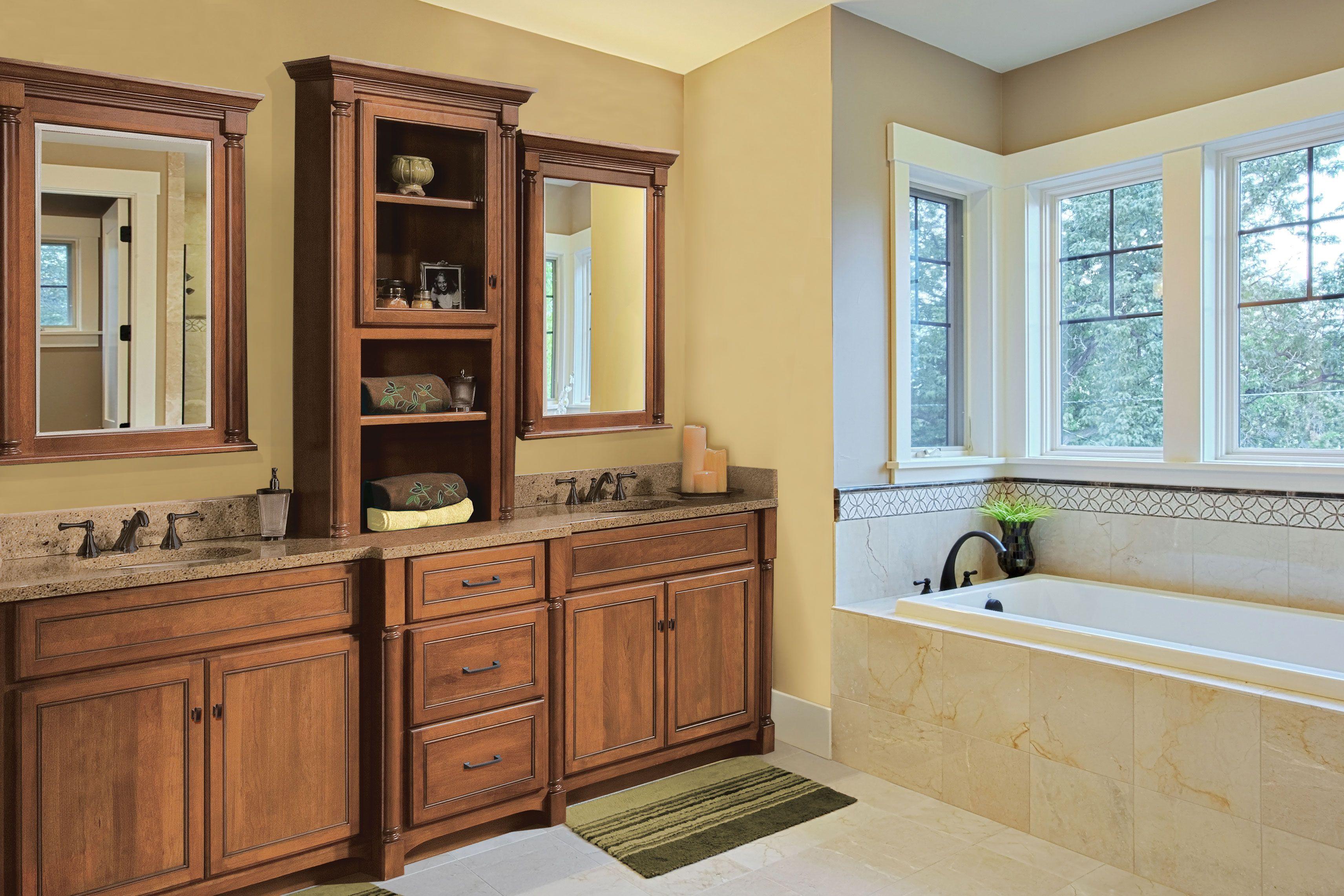 45++ Cherry wood bathroom cabinets ideas
