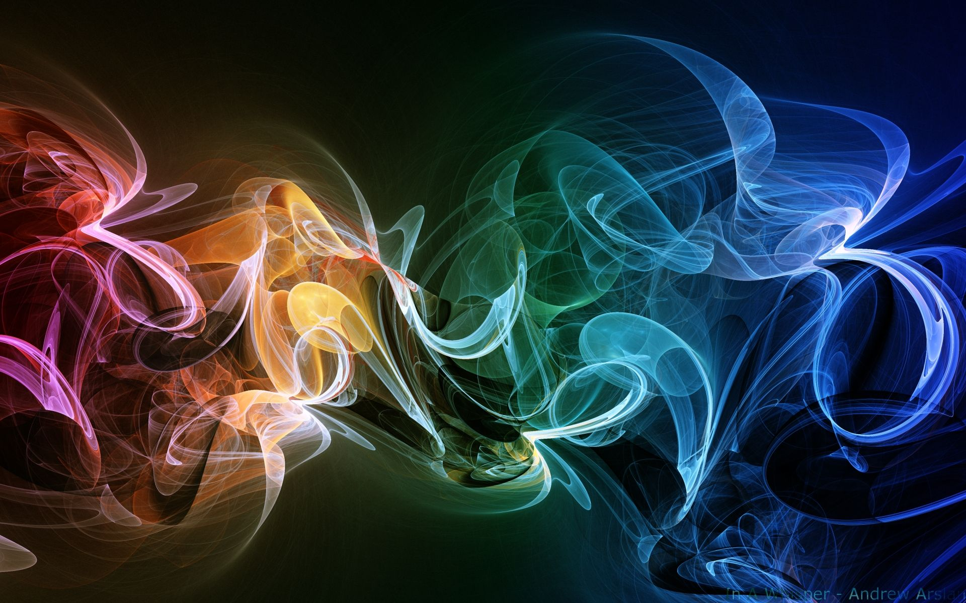 In A Whisper Smoke Wallpaper Light Painting Photography Abstract Wallpaper