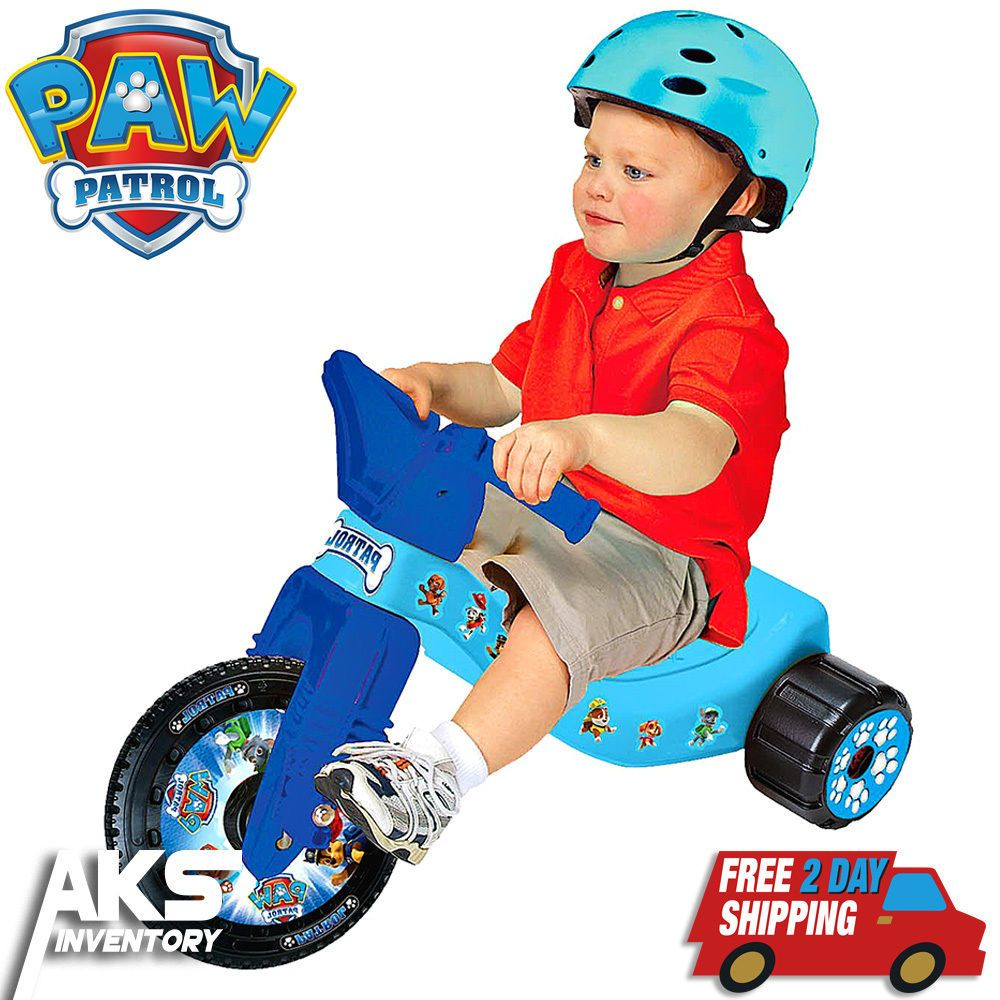 Details about PAW Patrol Big Wheel Junior Racer Tricycle