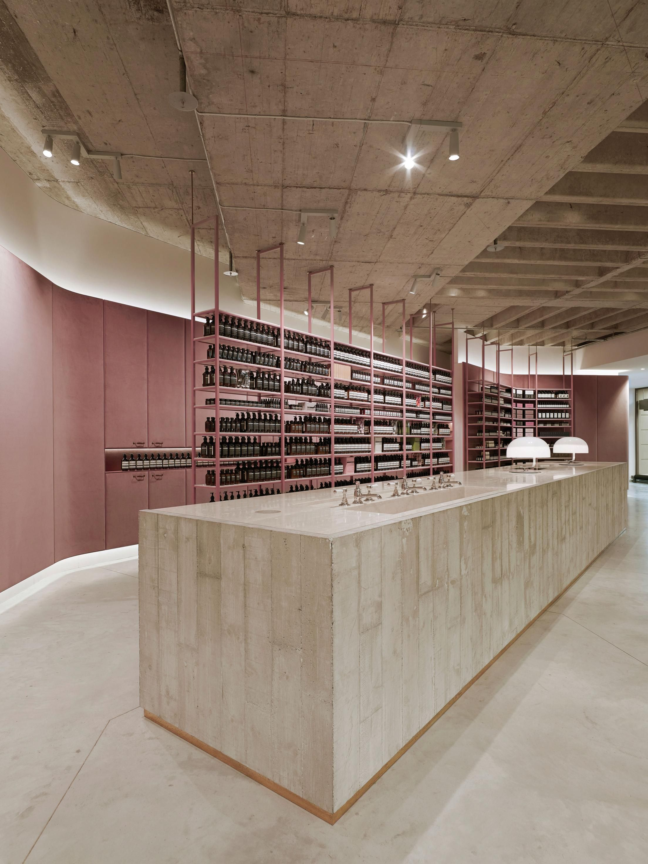 Aesop Luitpoldblock With Images Aesop Store Retail Architecture Retail Interior