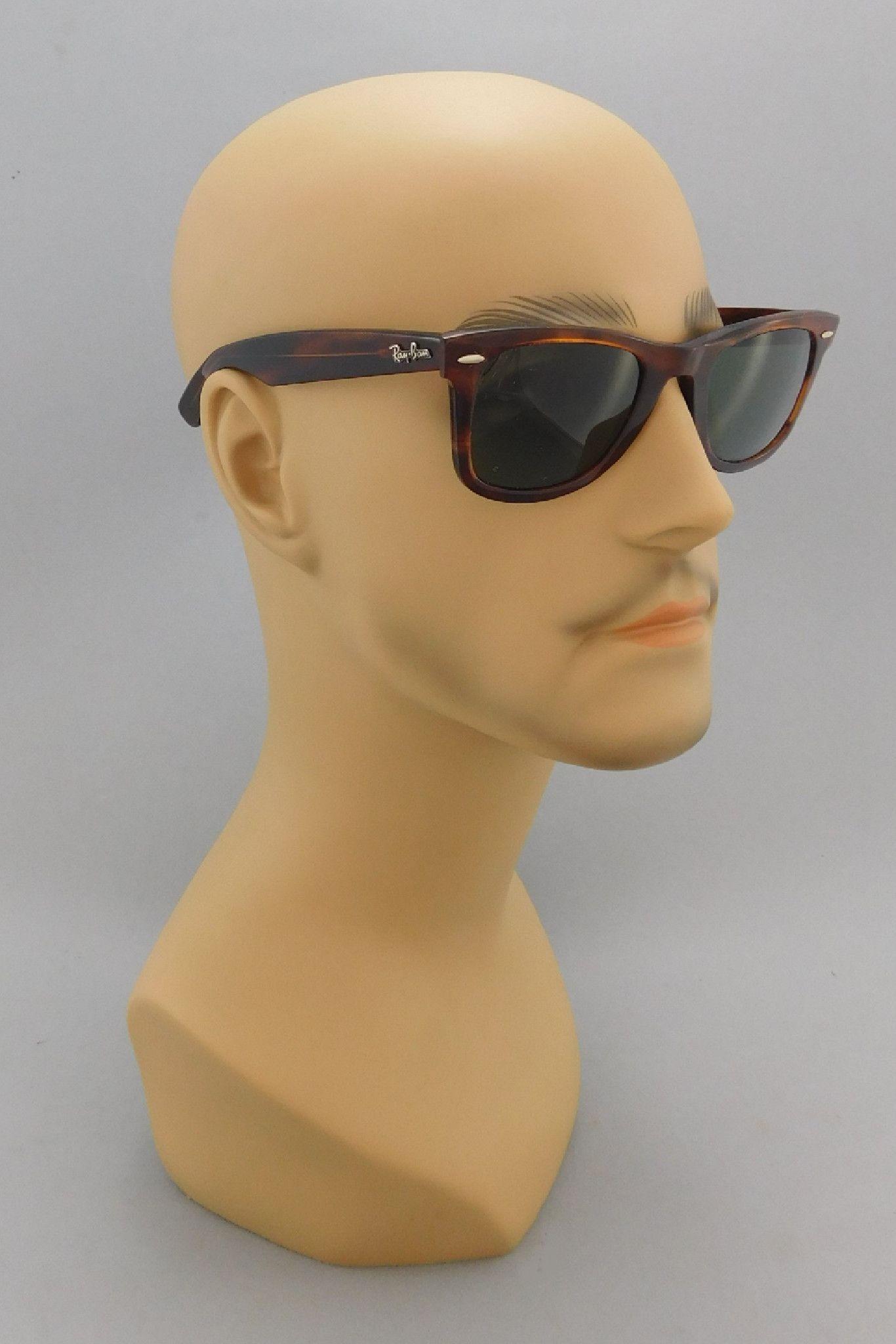 e6216e4e96 1970 s - 1980 s Vintage Ray Ban Wayfarer Tortoise Shell Sunglasses ...