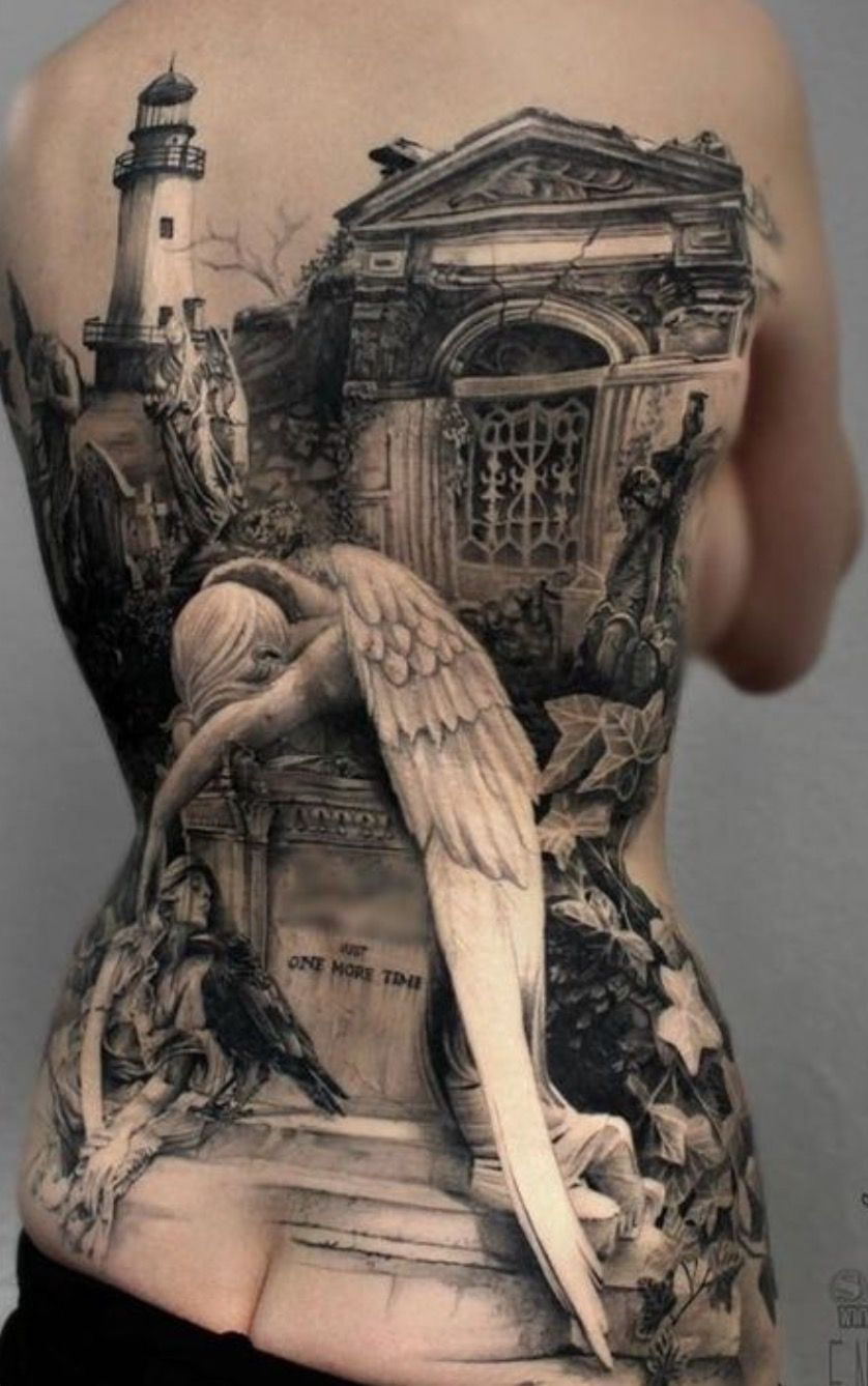 Cool tattoo designs for back pin by simeonka hadjieva on funny  pinterest