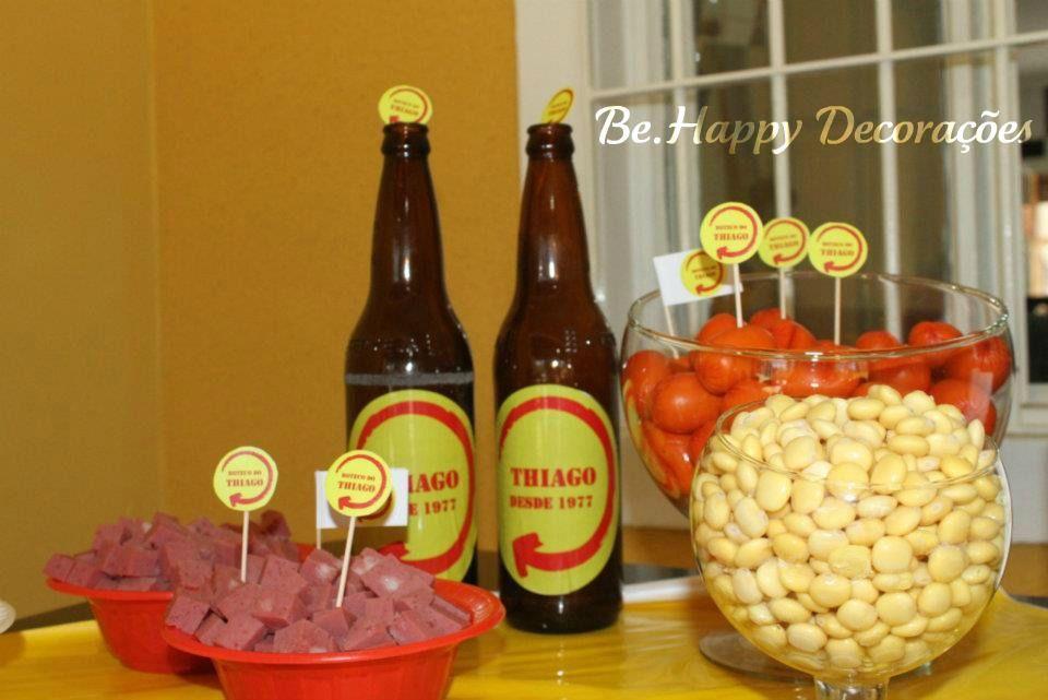 decoracao de mesa boteco : decoracao de mesa boteco:Festa // Tema: Boteco // Bar // Mesa de Petiscos // Inspiração