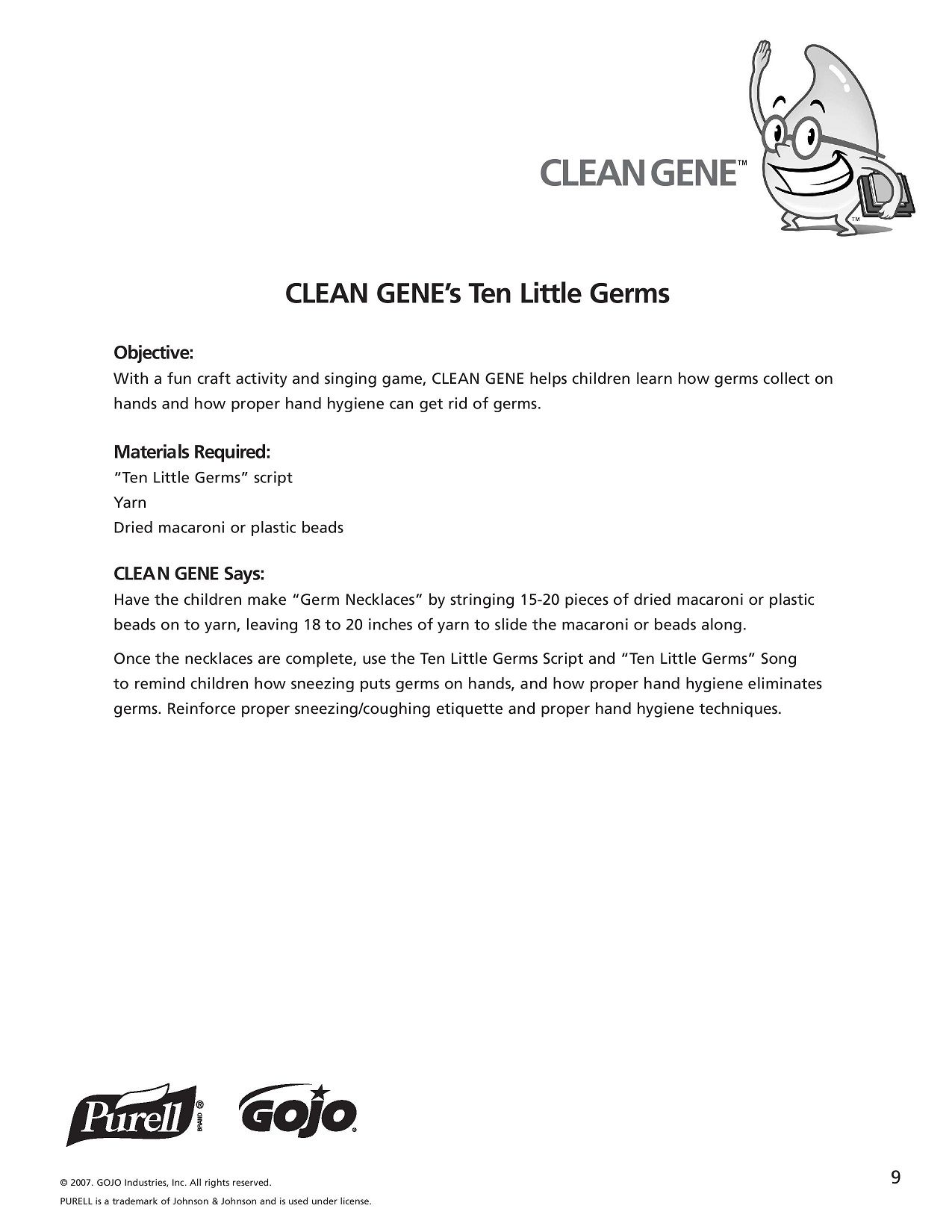 K 5 Hand Hygiene Lesson Plans And Worksheets