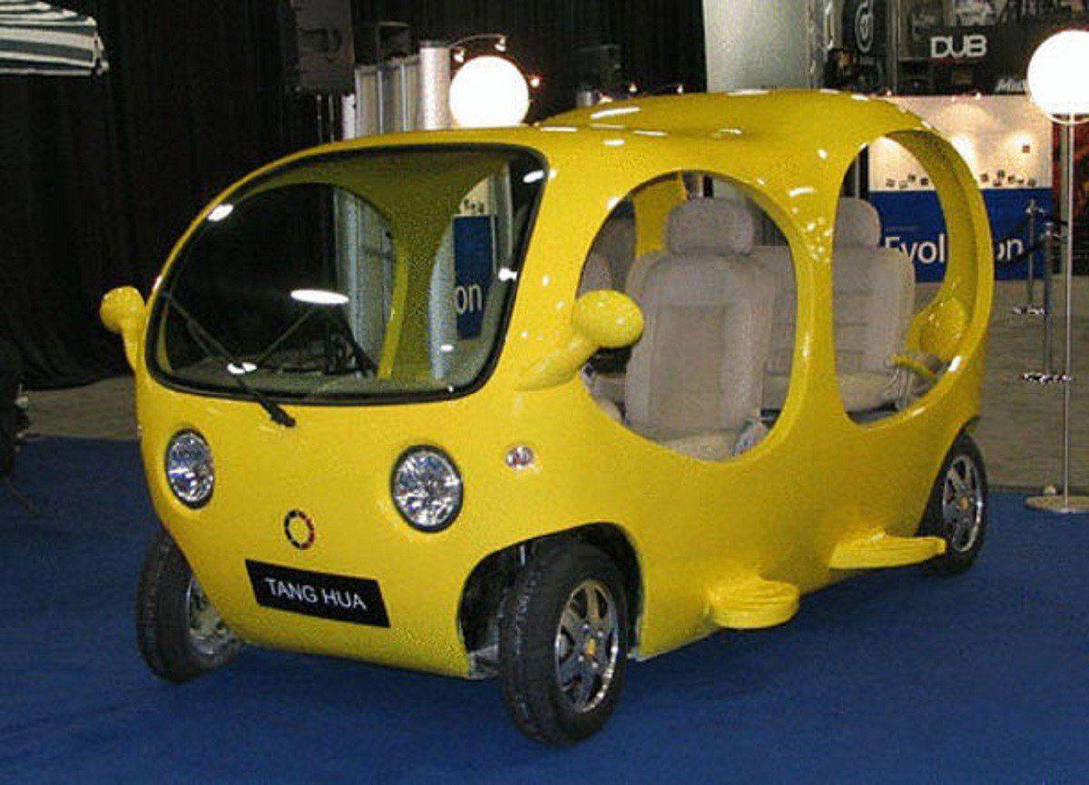 The 15 Most Ridiculous Cars Ever Built Sqbaco Weird Cars Chinese Car Mini Cars