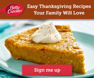 Free Thanksgiving Coupons, Samples & Recipes from Betty