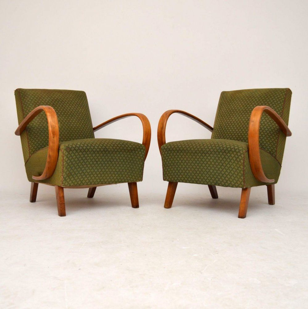 Art Deco Armchairs For Sale London Jindrich Halabala
