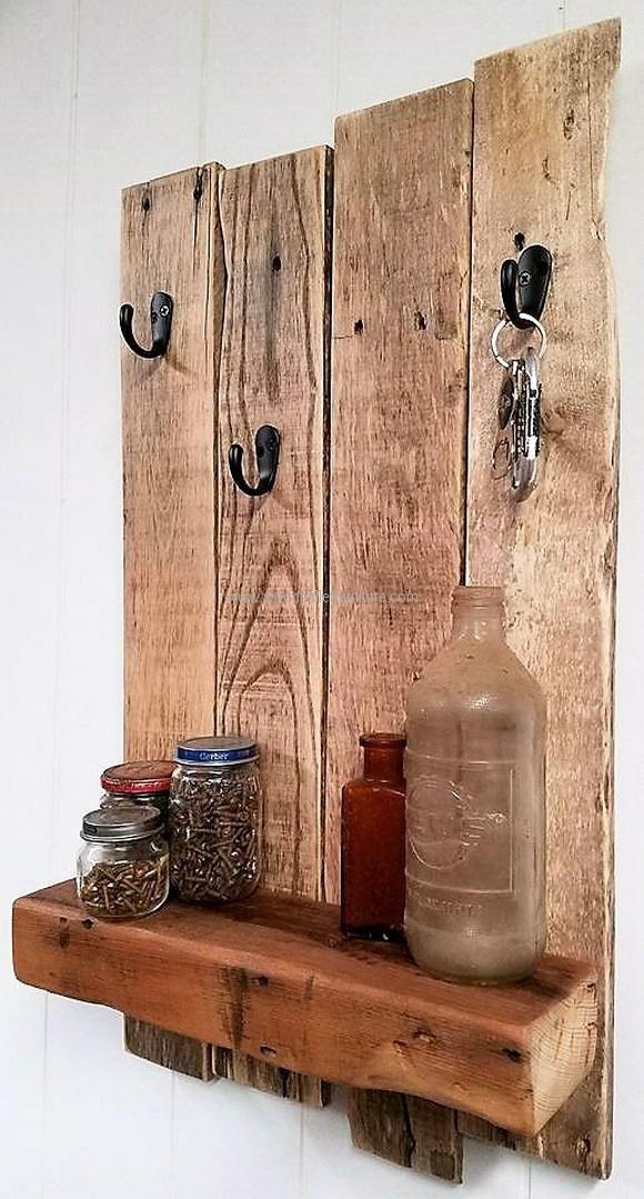 Resultado de imagem para wood projects key holder ...
