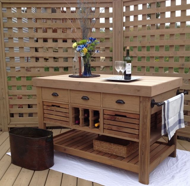 Why Portable Kitchen Cabinets Are Special: DIY Kitchen Island And Storage Cart