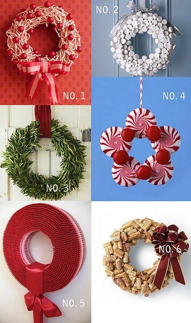 fun Christmas wreaths