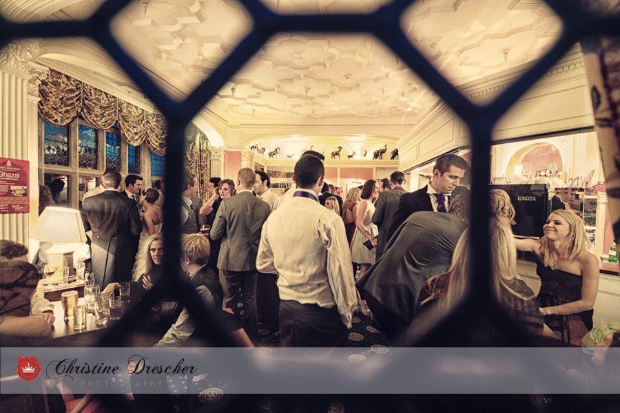 Emma & David's wedding at The Grim's Dyke. Photo Credit Christine Descher