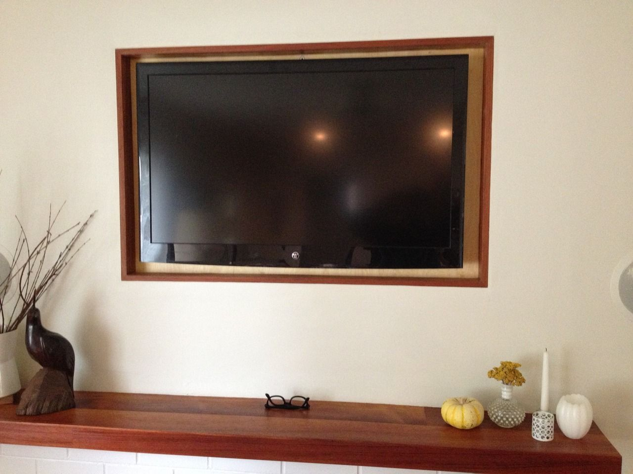 plasma screen encasement
