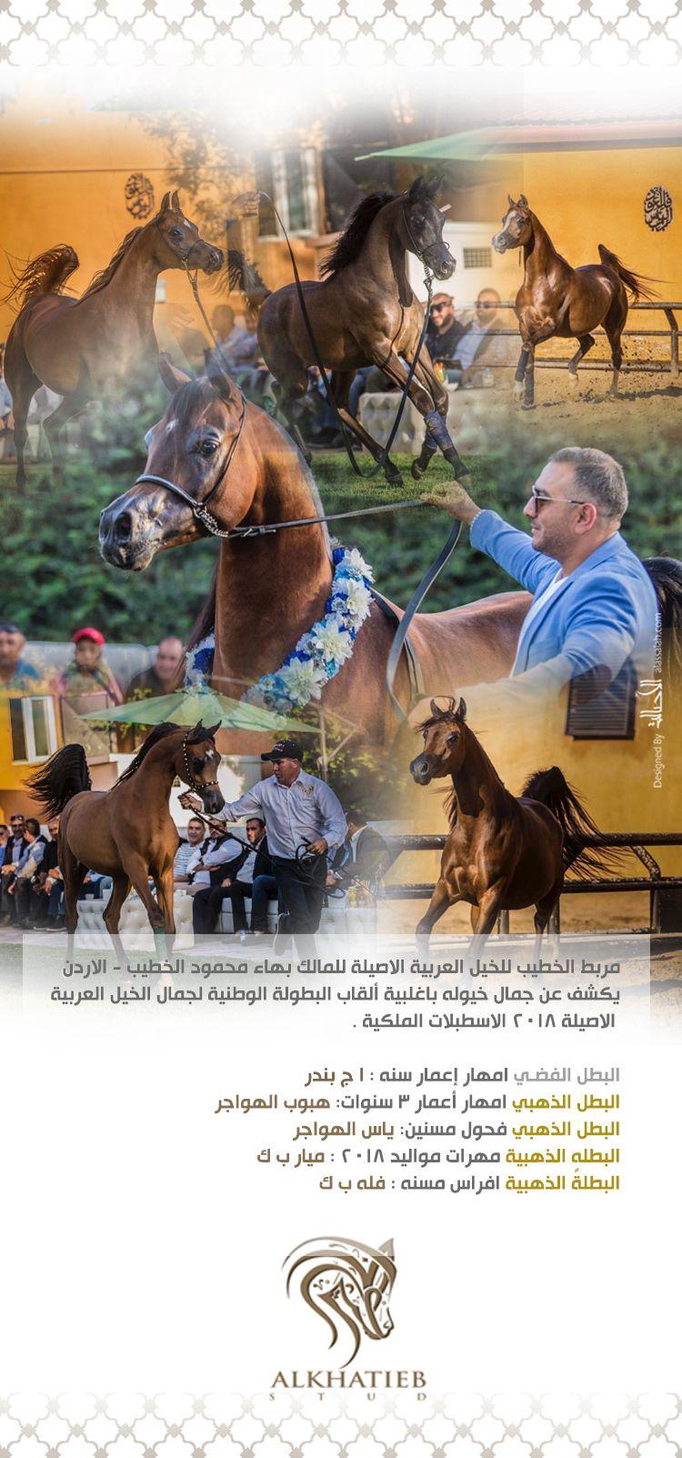 مربط الخطيب يستحوذ على اثمن القاب البطولة الوطنية بالأردن