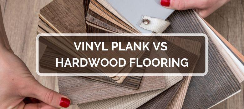 A currentyear comparison of LVP & Hardwood flooring