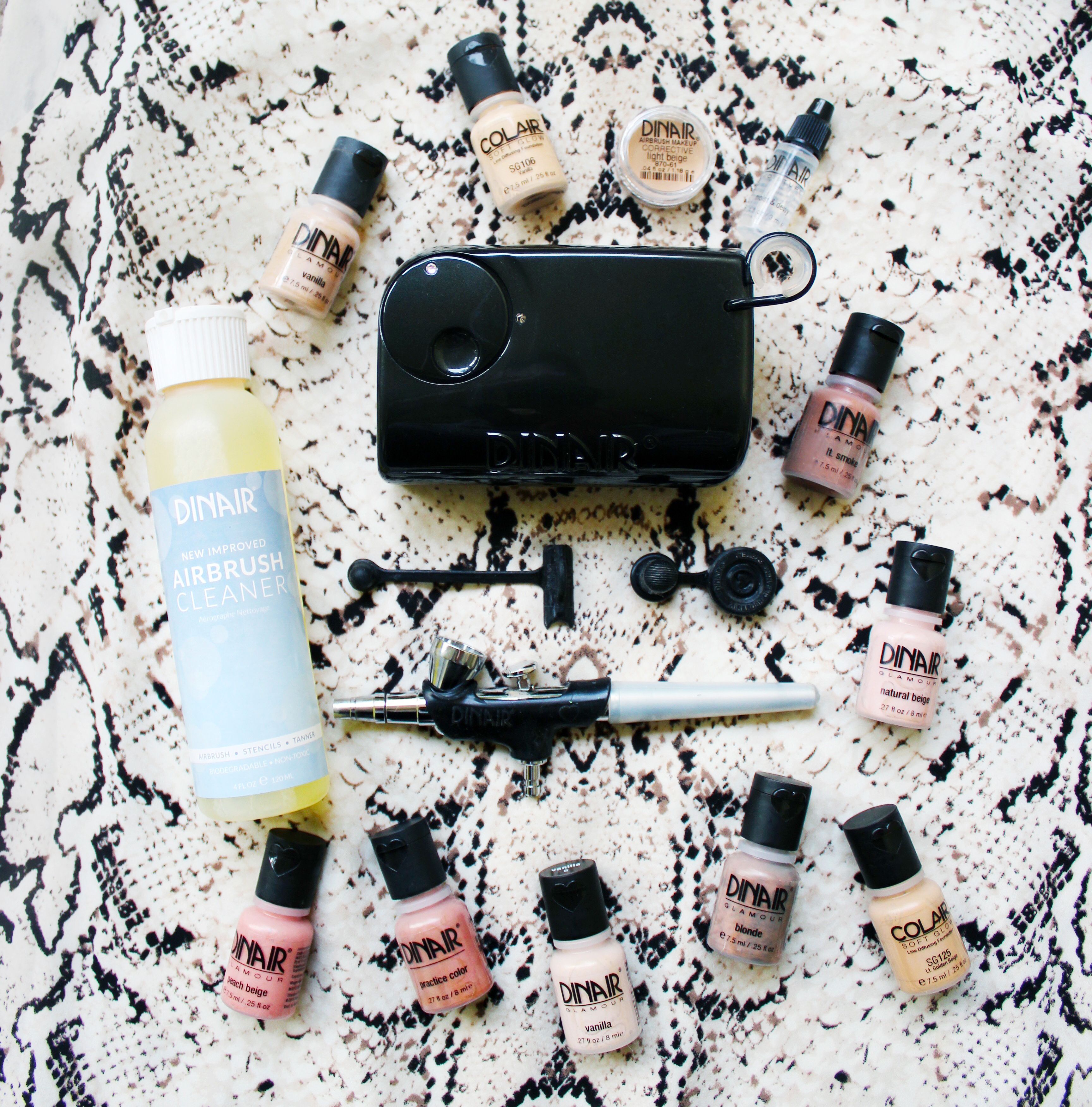 The Dinair Personal Pro Kit! Airbrush makeup, Airbrush