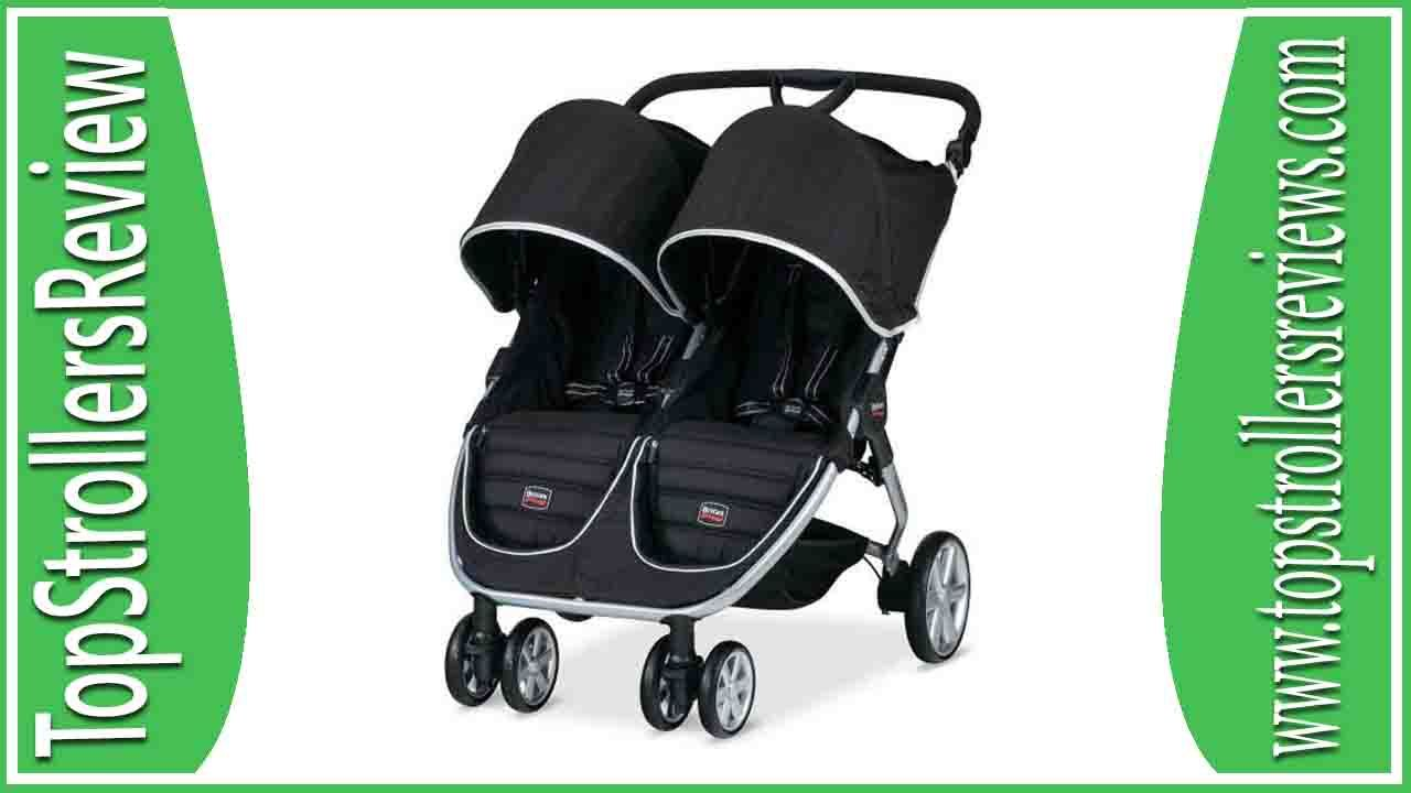 Britax Double Pushchair Reviews Britax B Agile Double Stroller Review Strollers For Girls