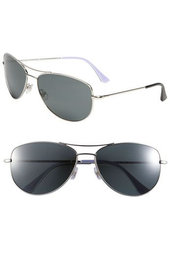 94402a80a437 kate spade new york 'ally' polarized metal aviator sunglasses available at  #Nordstrom