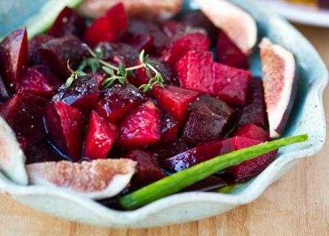 Super Healthy Sweet Deep Red Salad, aka the Twilight Salad