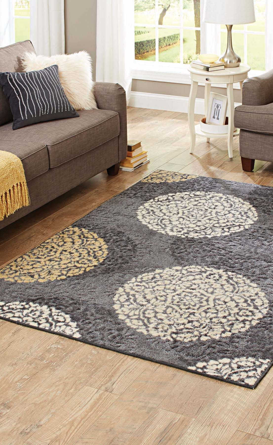 Better Homes And Gardens Overlapping Medallion Area Rug