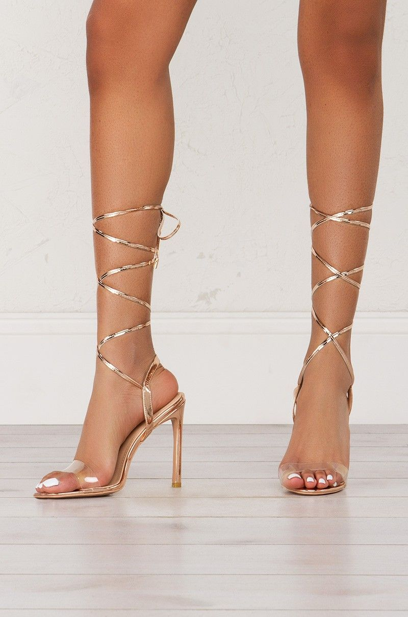 c9b3f52d93ccf Wrap Around Strappy Ankle Heeled Sandals (Get the look at www.shopAKIRA.com  )  heels  sandals  cuteheels  strappy  strappyheels  shopAKIRA
