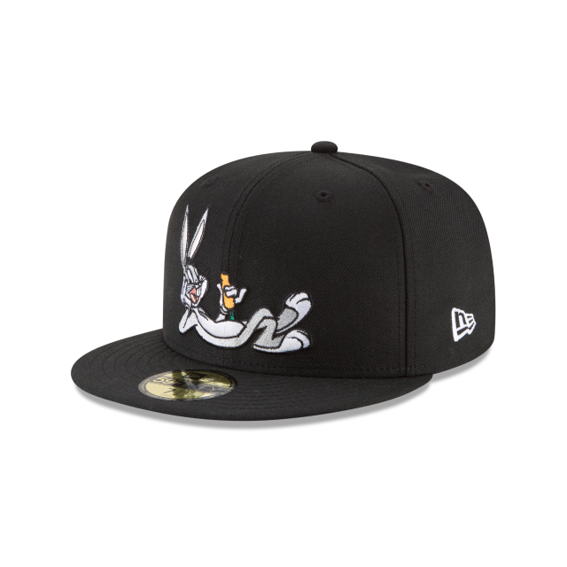 Bugs Bunny Carrot Looney Tunes 59fifty Fitted Hats New Era Cap Fitted Hats Hats For Men Fitted Hats New Era