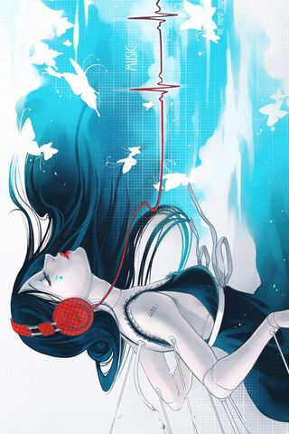 Anime Music IPhone Android Wallpaper