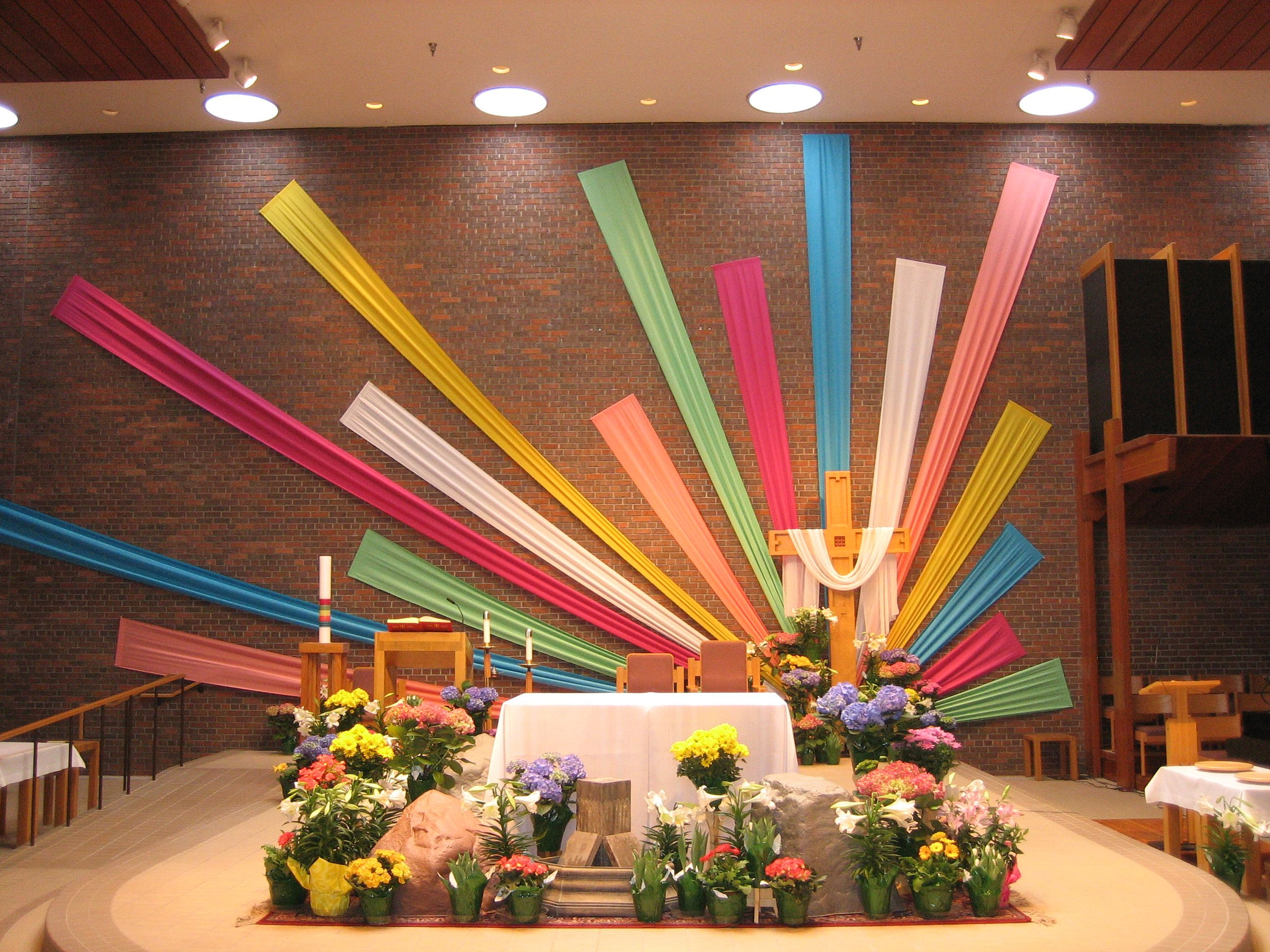 Easter Decorating Ideas For Church liturgical decorations - google search | church decorations