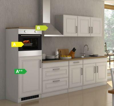 Held Möbel Küchenzeile Chicago 290 cm Hochglanz Weiß Jetzt - küchen weiß hochglanz