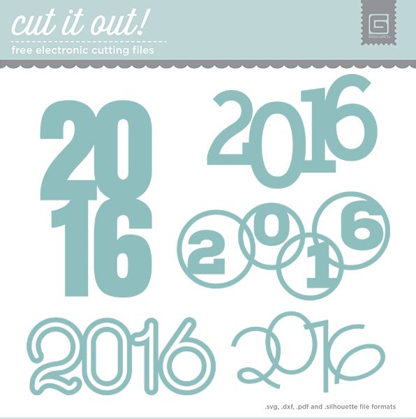 2016 Free Cut File