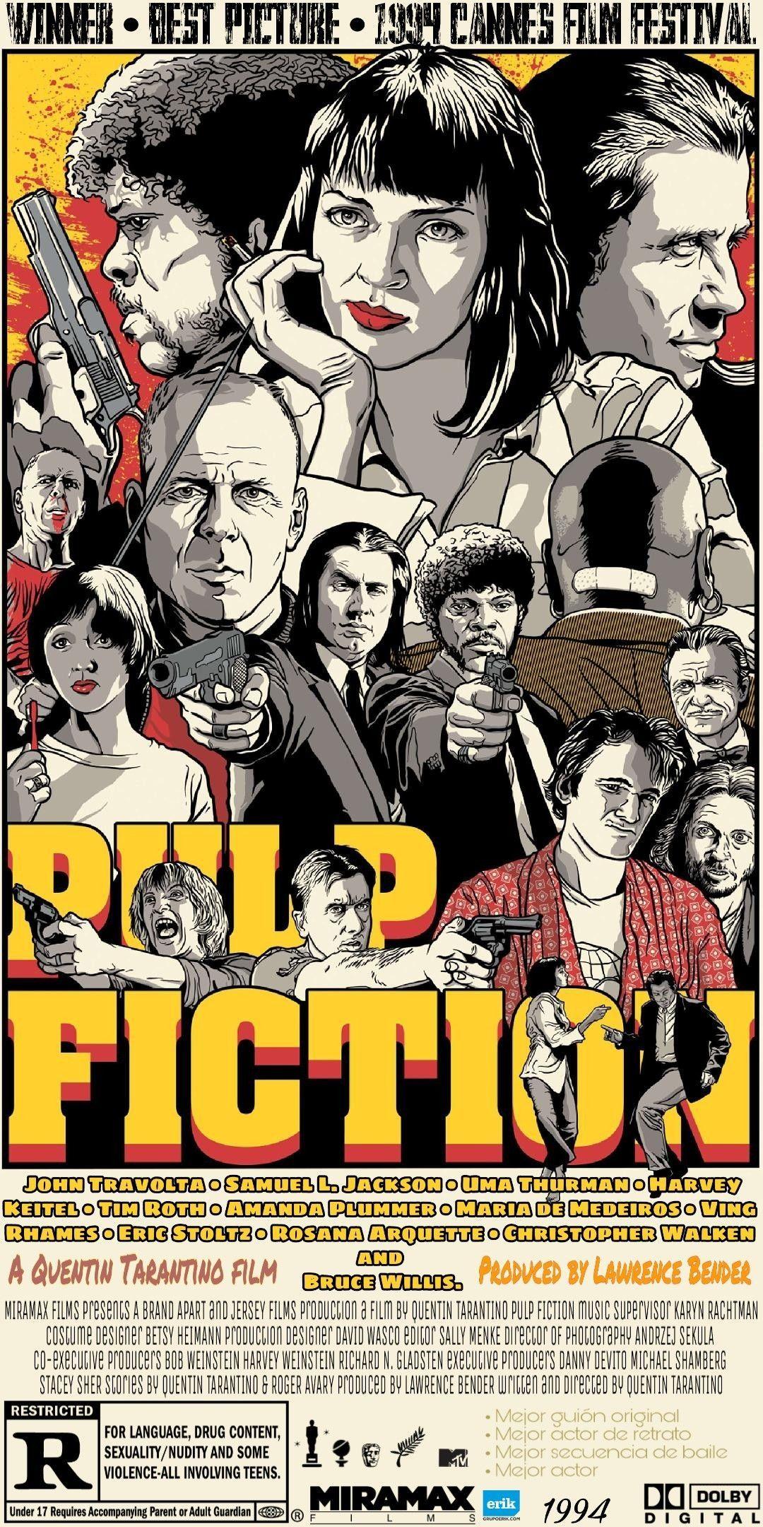 Wallpaper Pulp Fiction Quentin Tarantino Fondo De Pantalla Filmposters Wallpaper Pulp Fiction Quentin Ta Pulp Fiction Classic Movie Posters Best Movie Posters