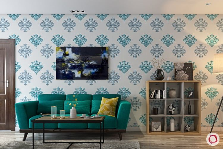 Wallpaper Vs Paint Insider Info You Need To Know Indian Bedroom Decor Wall Paint Designs Wallpaper Living Room