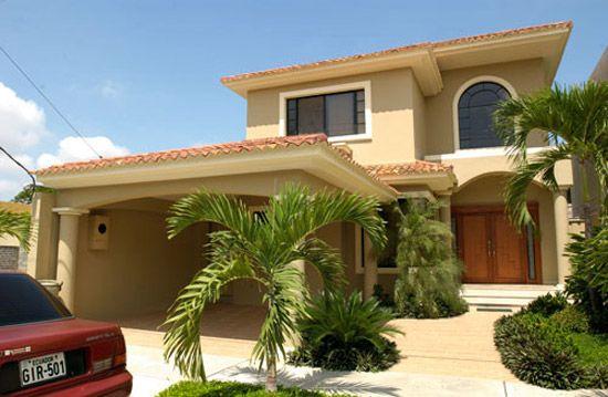 Fachadas de casas modernas buscar con google casas - Casas con chimeneas modernas ...