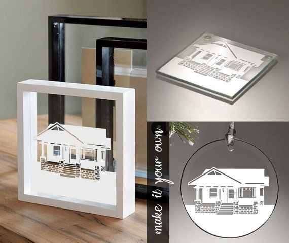 Seriously Cool Personalized Gift Or Keepsake Custom Home