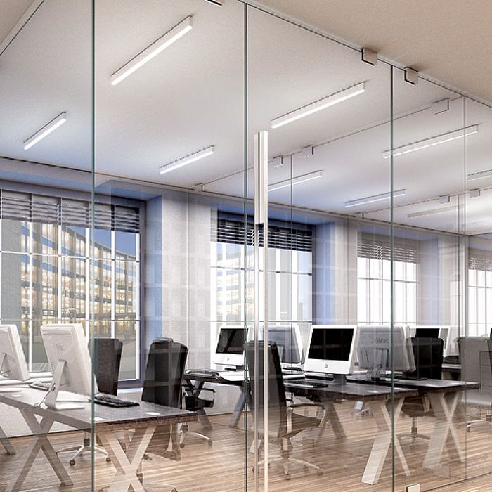 Ceiling Lamp Office: STRUCTURAL CEILING T5