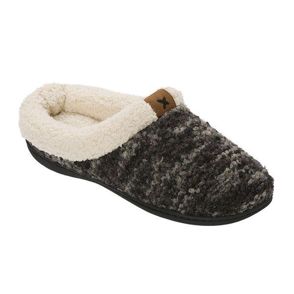 5947156edf4d8e Dearfoams® Womens Textured Knit Clog Slippers - JCPenney